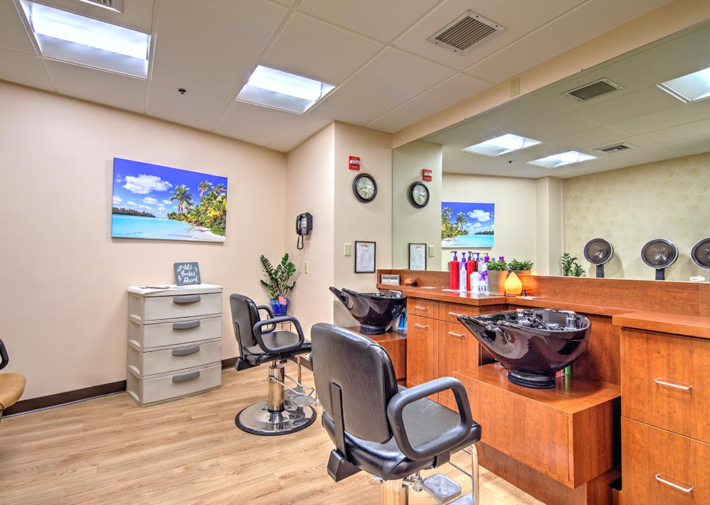 assisted living and care amenities