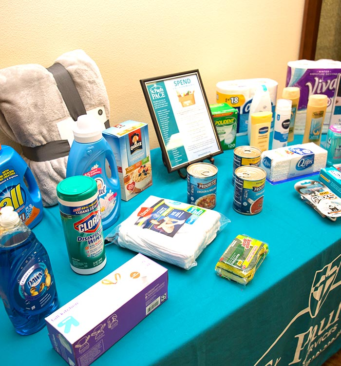 SPEND – St. Paul's Essential Needs Drive