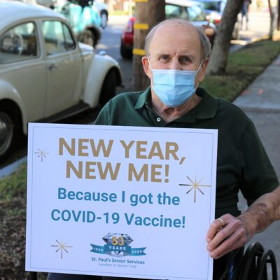 St. Paul's Senior Services Hosts COVID-19 Vaccination Clinics for its Senior Residents & Essential Staff