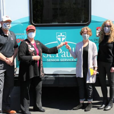 St. Paul's Senior Services and San Diego State Partner to Fight COVID-19
